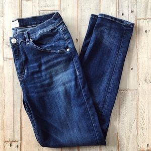 Hudson Lilly Mid Rise Ankle Skinny Jeans